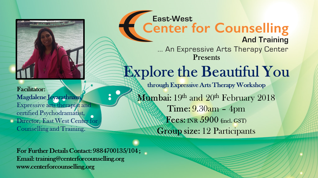 Explore The Beautiful You An Expressive Arts Therapy Workshop
